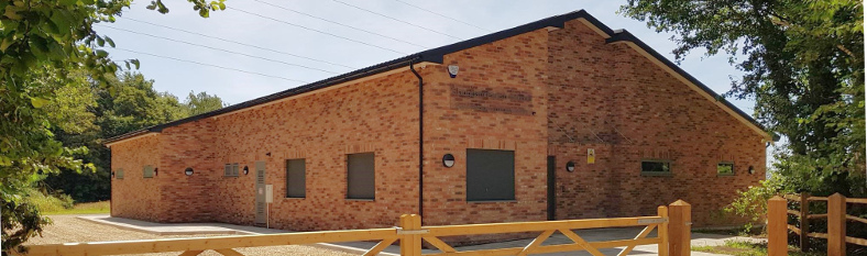 Exterior view of Pease Pottage Community Centre