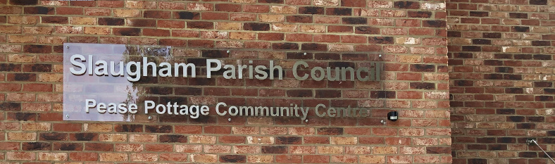 Pease Pottage Community Centre exterior sign